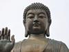Największy na świecie posąg Buddy z brązu, wyspa Landau w Hongkongu, 18 IV 2011