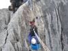 Most linowy na grani Piramidy Carstensz, 4 V 2011