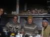 W Zielonej Gastinicy, od lewej Jarosław, papa Jarosława Gienadij, Jurij Aleksandrowicz Kozyłow vel Sandrycz vel General, NN, Kaukaz 20-22 VIII 1998