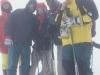Na szczycie Elbrusa, Piotr Słomski z Anglikami, 26 VIII 1998