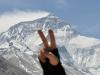 Everest, widok z klasztoru Rongbuk, 15.04.2014, fot.B.Wroblewski