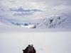 W drodze powrotnej na lodowiec Kahiltna, 15 VI 2008