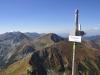 Widok na Wołowiec i Rochacze z Jarząbczego Wierchu (2.137 m), 7 IX 2013 r.